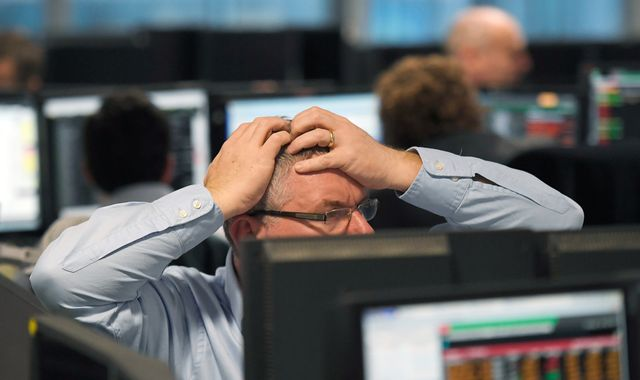 FTSE 100 sees £37bn wiped off value as global markets plunge