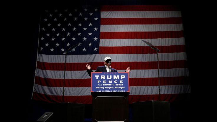 Donald Trump in Detroit
