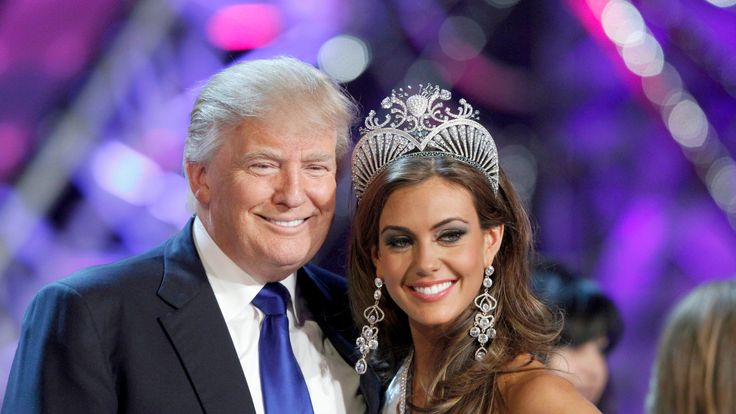 Mr Trump was the owner of the Miss Universe Organization until 2015