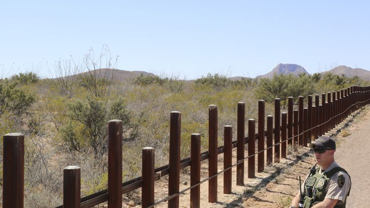 Building a wall at the US-Mexico border was a key pledge of Donald Trump's presidential campaign