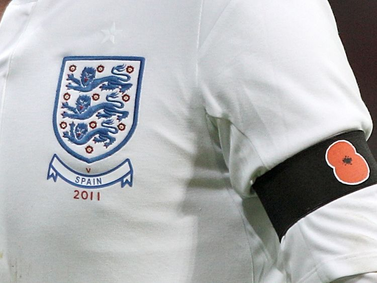 England, Scotland and Northern Ireland escaped punishment when they wore armbands adorned with poppies in 2011
