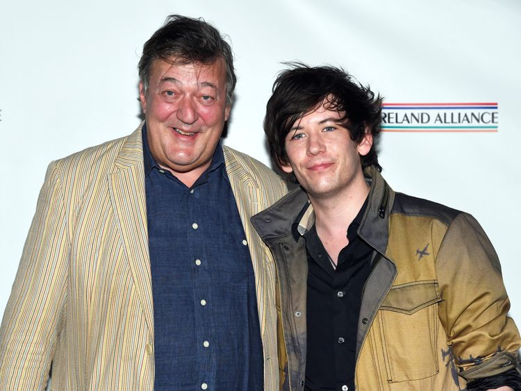 Stephen Fry recovering from prostate cancer