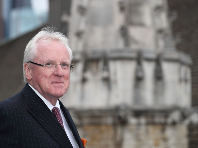 Andrew Parmley, Lord Mayor of London from November 2016