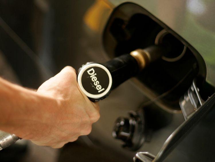 A diesel feul pump