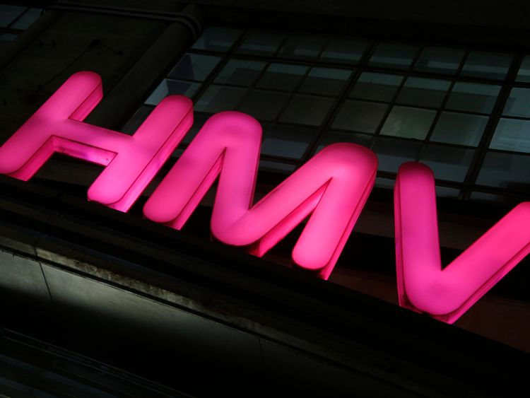 The attack happened at an HMV store in Leeds (library picture)