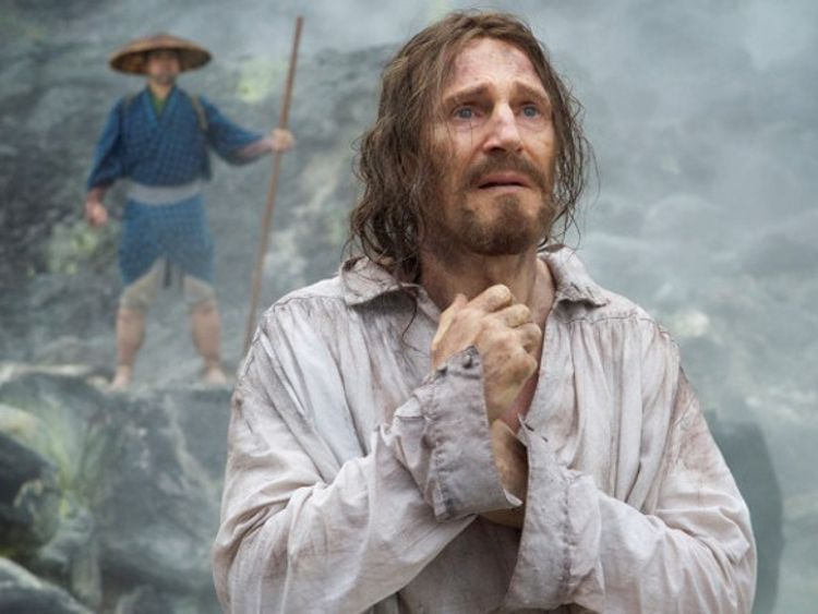 Actor Liam Neeson plays apostosised Father Cristovao Ferreira