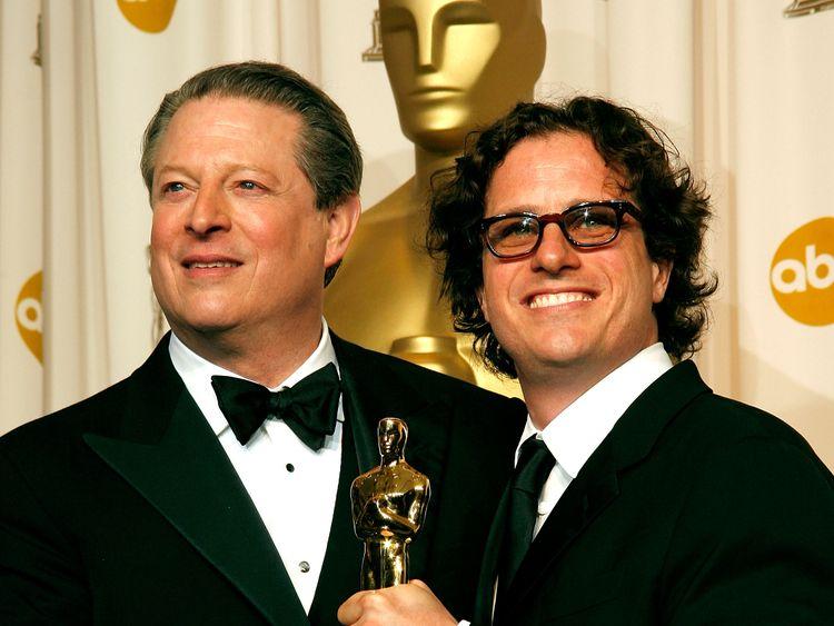 Al Gore and Davis Guggenheim won an Oscar for their film An Inconvenient Truth