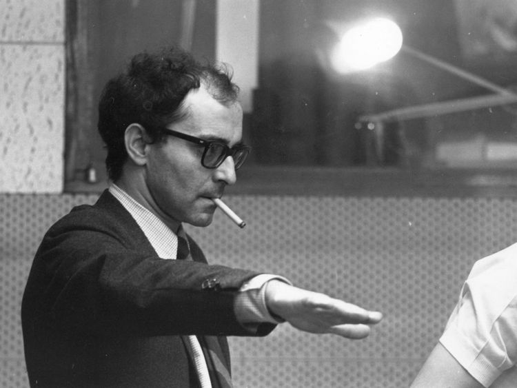 Coutard worked with Godard in some of the French director's most famous films