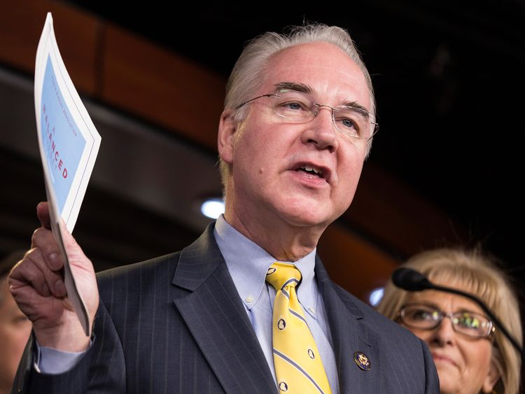 Tom Price will play a central role in replacing Obamacare