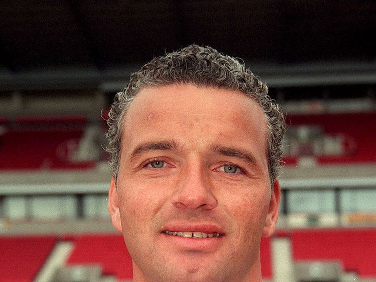 Former footballer Paul Stewart