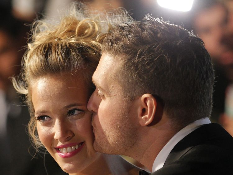 Michael Buble and Luisana Lopilato married in 2011