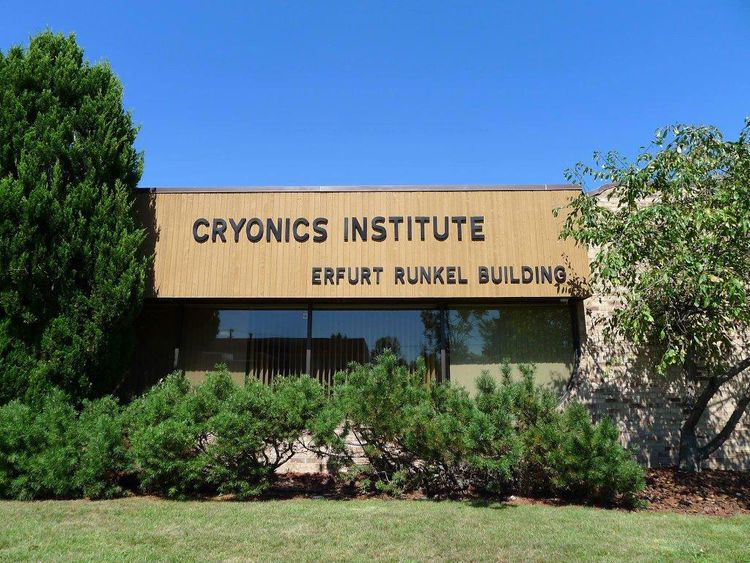 The girl's body is being stored at the Cryonics Institute (Michigan)