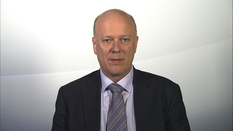 The Transport Secretary has defended the HS2 project