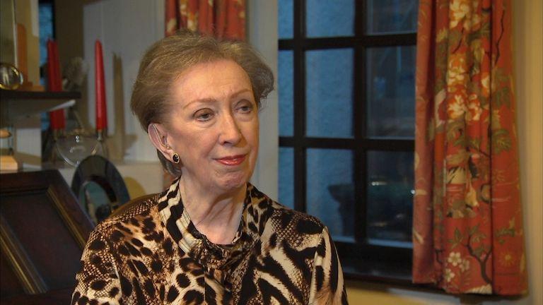 Former Foreign Secretary Dame Margaret Beckett