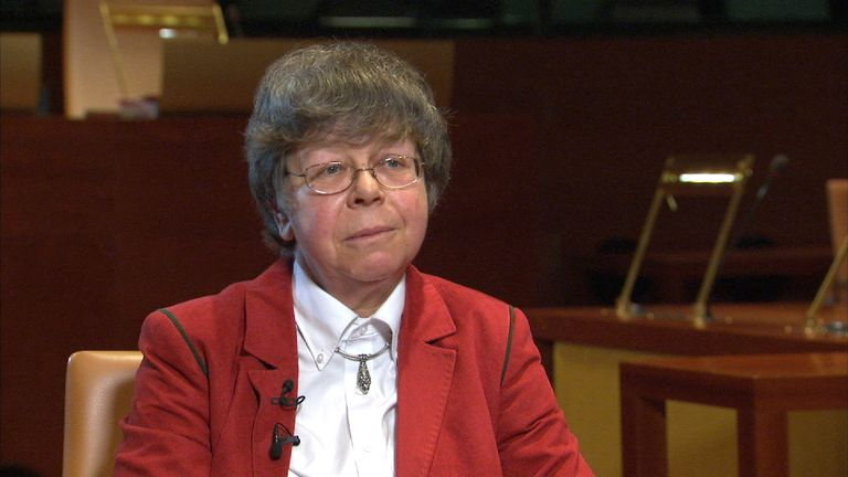 Eleanor Sharpston is the most senior British member of the ECJ