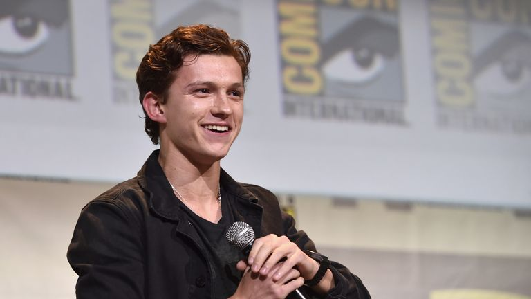 Britain's Tom Holland will play 'your friendly neighbour' in Homecoming