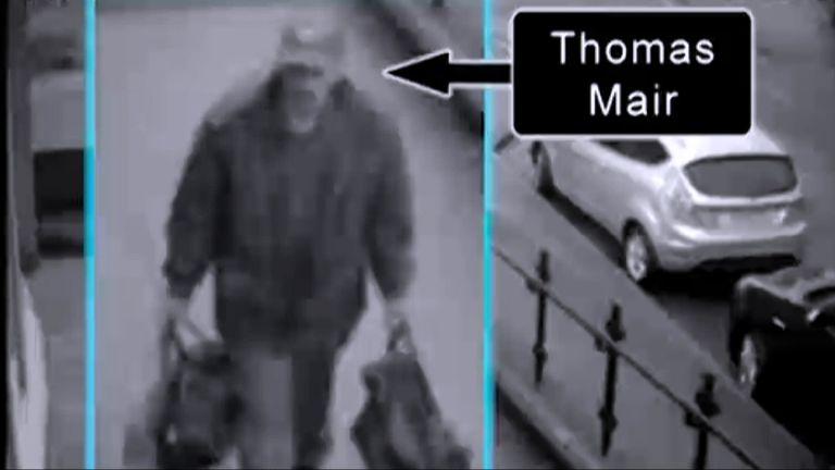 Thomas Mair on CCTV