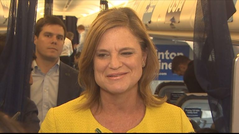 Jennifer Palmieri responds to news Hillary Clinton will not face charges