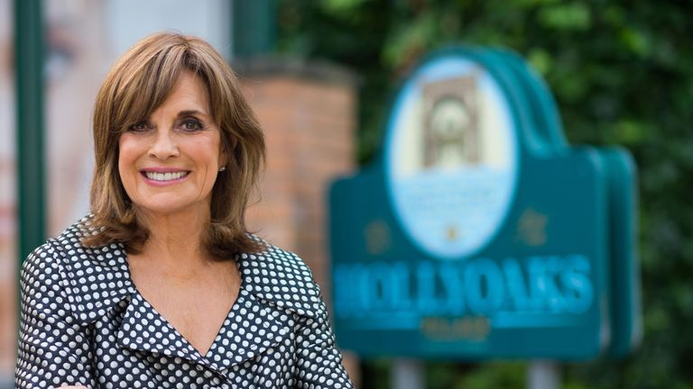 Linda Gray who has joined the cast of Hollyoaks