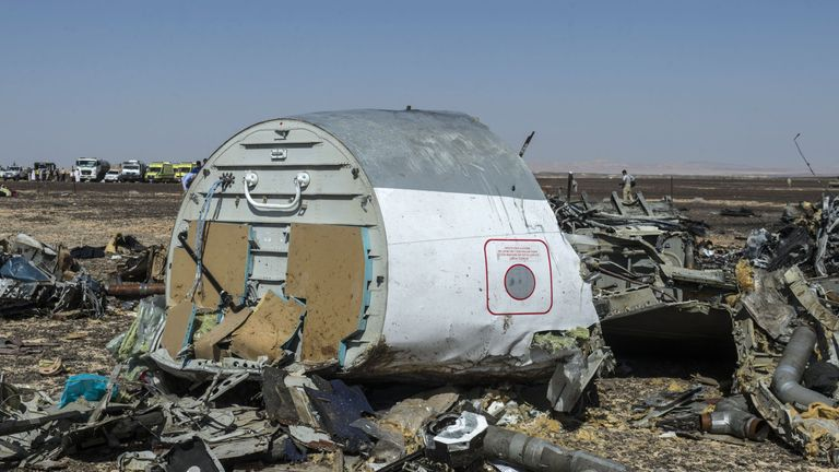 Egypt disputes Russia's claim of terrorism over the Metrojet crash