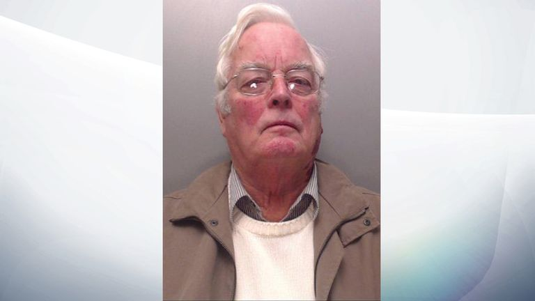 North Wales Police said 'time has caught up with Gordon Anglesea'
