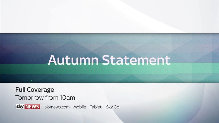 Autumn Statement promo