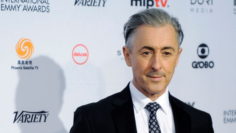 The ceremony was hosted by The Good Wife star Alan Cumming