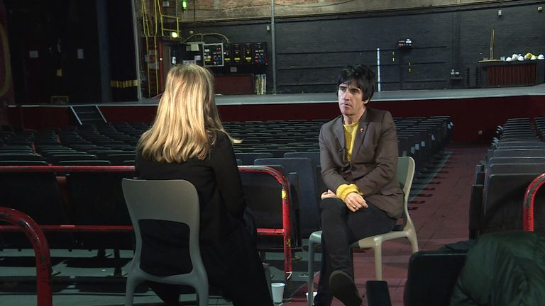 Johnny Marr talks to Lucy Cotter