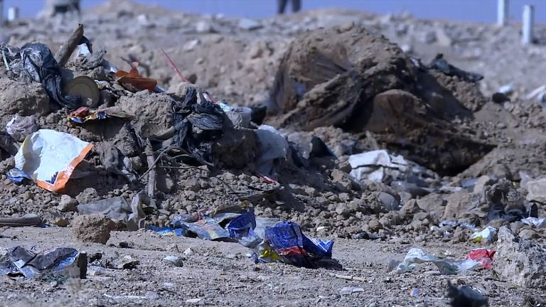 The Islamic State killing fields outside Mosul where hundreds are feared to be buried