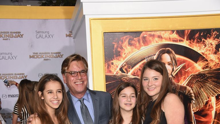 Sorkin and his 15-year old daughter Roxy