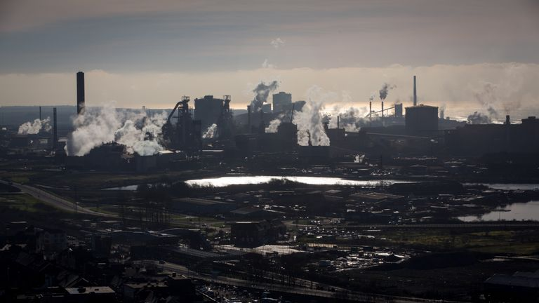 The Port Talbot works is Tata's biggest steel investment in the UK