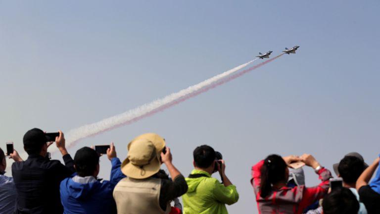 The Chengdu J-20 stealth jet