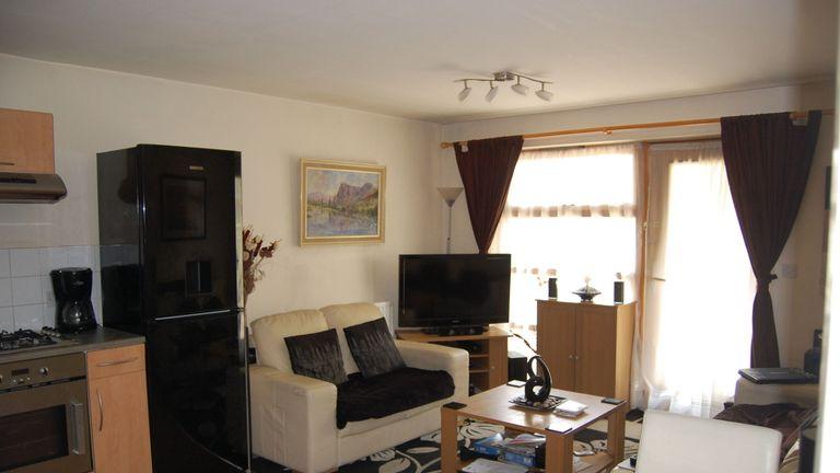 Stephen Port's flat in Barking, east London,