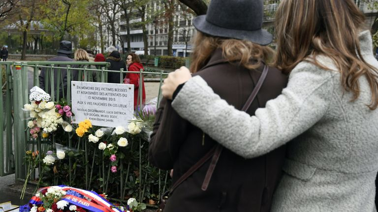 Paris attack victims remembered