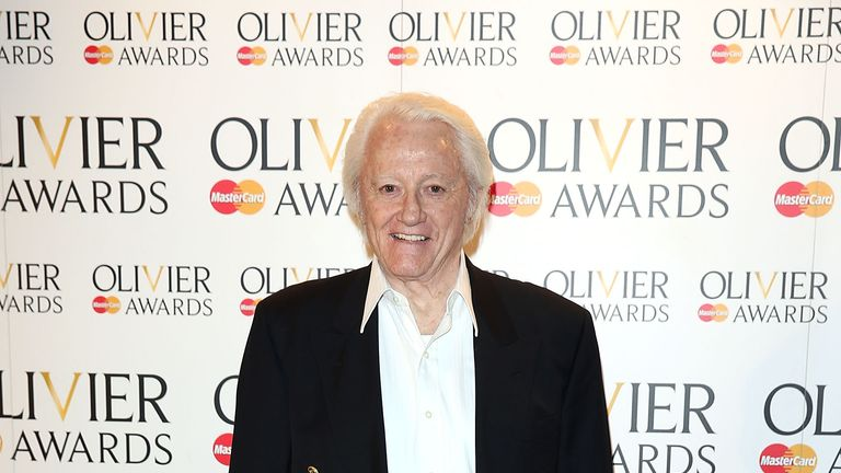 2014: Vaughn attends the Laurence Olivier Awards in London