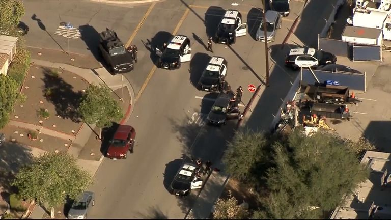 One dead after shooting near California polling station