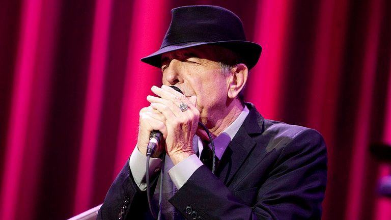 Leonard Cohen performs at Madison Square Garden in 2012