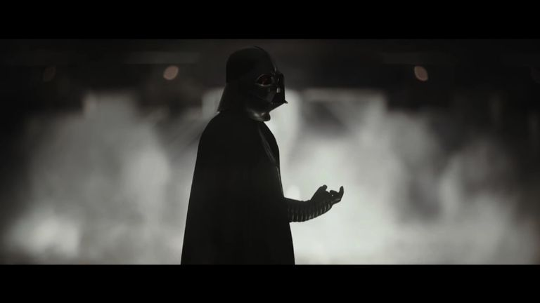 More Darth Vader revealed in Rogue One international trailer