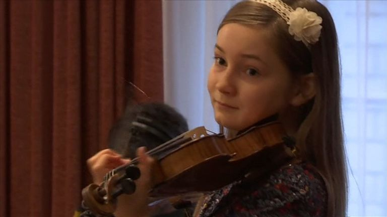 Music prodigy, 11-year-old Alma Deutscher, from Dorking whose first full opera is about to have its world premiere