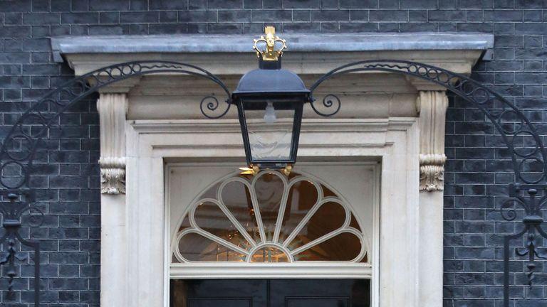 Theresa May welcomes Beata Szydlo to Downing Street