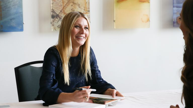 Gwyneth Paltrow has penned five books since 2008