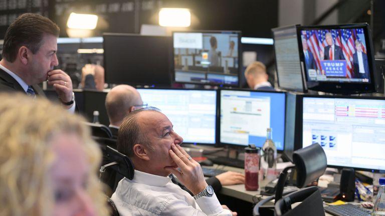 European stocks fell sharply before gaining value later on Wednesday