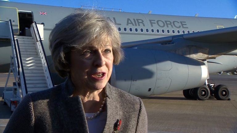 May warns MPs there's no going back on Brexit