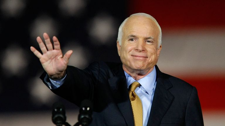 Arizona Senator John McCain, who stood for the presidency in 2008, is facing a tough re-election battle