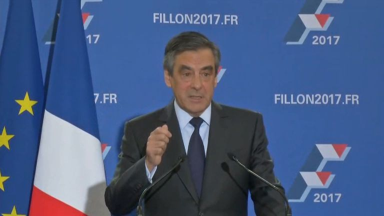 François Fillon will Republican nomination for president in France.
