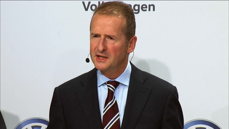 Herbert Diess is in charge of VW's car operation