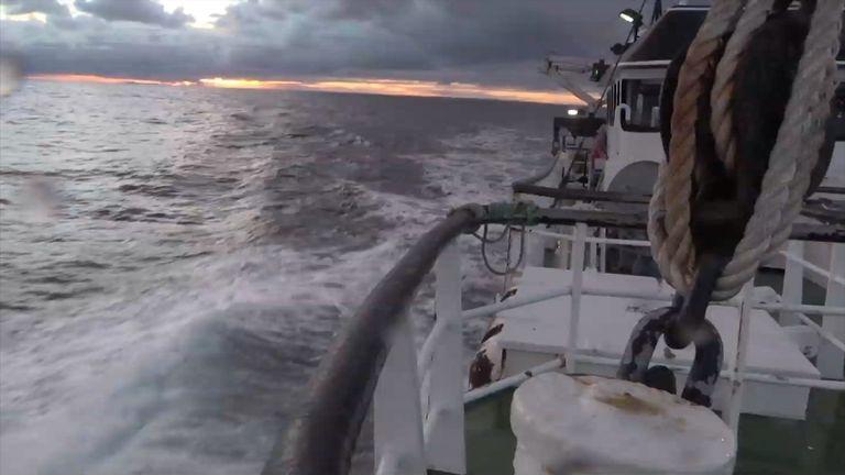 Many British fishermen oppose the EU quota system