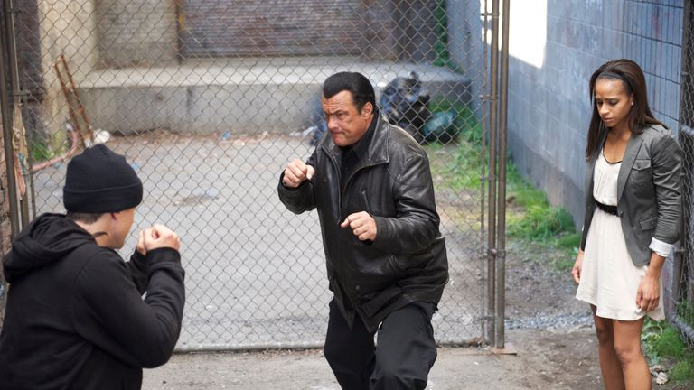 Seagal is known for his martial arts expertise