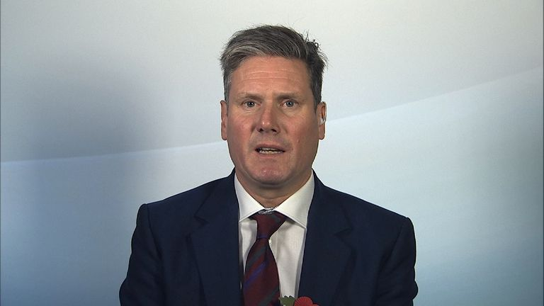 Sir Keir Starmer is the shadow Brexit minister
