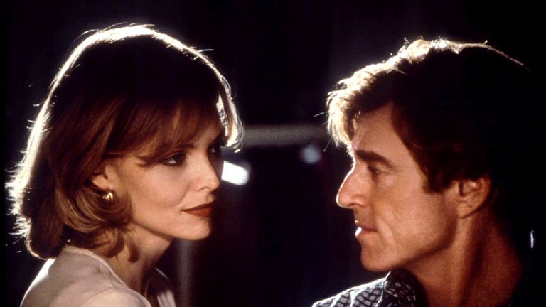 Redford starred alongside Michelle Pfeiffer in 1996's Up Close and Personal